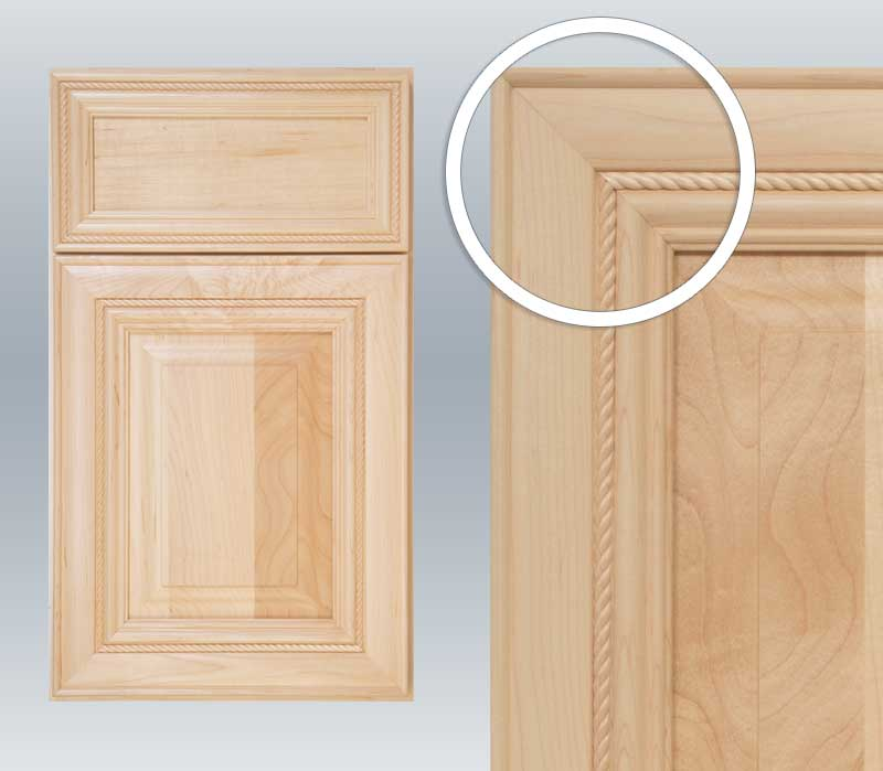 Mortise and tenon cabinet door