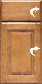 Cabinet door illustration